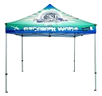 10' x 10' Deluxe Event Tent - Full Color Dye Sublimation Printing